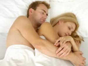 pareja dormir
