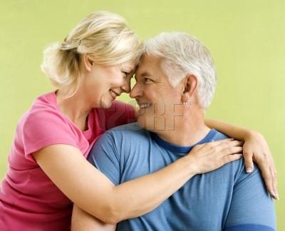 pareja mediana edad