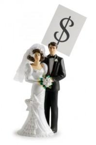 Wedding Couple Money
