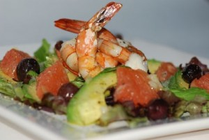 avocado shrimp grapefruit salad f1
