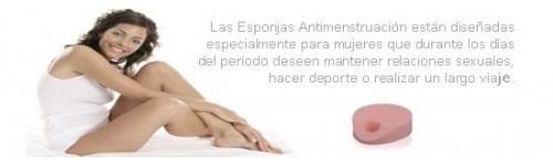 esponjas antimenstruacion